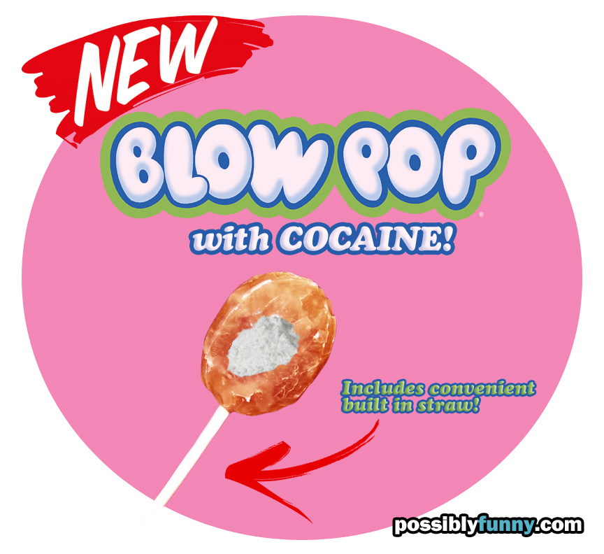 blow pop with cocaine