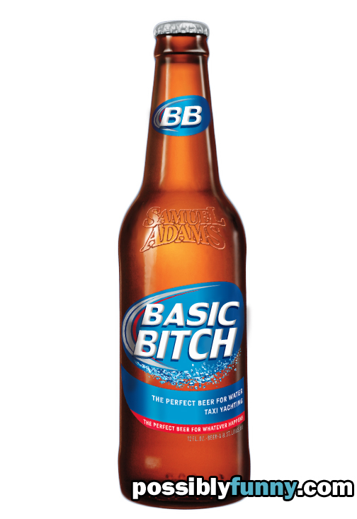 sam adams basic bitch
